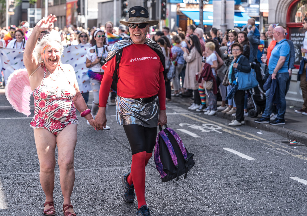 LGBTQ+ PRIDE PARADE 2017 [ON THE WAY FROM STEPHENS GREEN TO SMITHFIELD]-129971