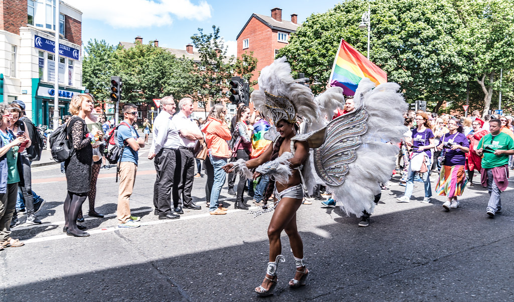 LGBTQ+ PRIDE PARADE 2017 [ON THE WAY FROM STEPHENS GREEN TO SMITHFIELD]-130071