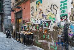 Napoli street library (Emanuele Stifanelli) Tags: street streetofnaples napoli naples streetphotography streetart campania southitaly italy europe travel emanuelestifanelli stiflele amateurphotographer nikon nikond3200 nikkor