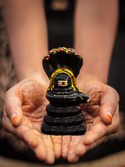 Shivaya - Kolar, India (Kartik Kumar S) Tags: model golden light sunset 50mm 600d canon crore karnataka kolar linga shiva temple kotilingeshwara