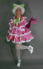 Pansy 6 (queerina) Tags: queer dragqueen fag fairy frock effeminate poofter effeminacy poof flamer sissy crossdresser crossdressing mincing mincer pansy camp heavymakeup limpwristed