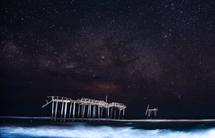 20170520 NC Frisco Pier-0021 (Dan_Girard_Photography) Tags: 2015 dangirardphotography outerbanks northcarolina frisco pier water sand astrophotography milky way