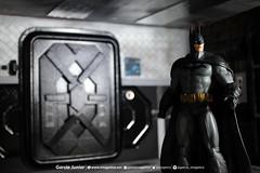 """Batman's Vault diorama (Garcia """"Imagética"""" Junior) Tags: batman diorama art arte miniature miniatura collection coleção actionfigure toy brinquedo boneco cenário dccomics dccollectibles arkham arkhamasylum arkhamcity arkhamknight arkhamorigins fotografia photography"""