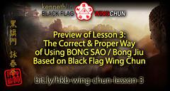 Wing Chun Bong Sao Technique based on Maximum Efficiency (Hek Ki Boen Eng Chun) Tags: ip man wing chun yip donnie yen black flag hek ki boen