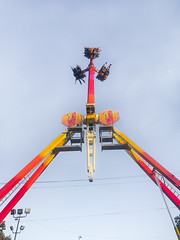 over inversion (pbo31) Tags: bayarea eastaby alamedacounty california color july summer 2017 pleasanton pbo31 boury alamedacountyfair fair ride midway spinning carnival motion iphone7 inversion butleramusements swing 3 upsidedown
