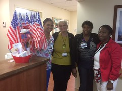 Neptune Society Spreads Fourth of July Cheer to Local Nurses