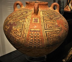 """""""Vase"""" - ceramic (850-1000 AD) - from Panama, Cloché culture - """"The World that wasn't there / Pre-Columbian art in the Ligabue Collections"""" - Temporary Exhibition, up October 30, 2017 - Naples, Archaeological Museum (Carlo Raso) Tags: vase ceramic panama clochéculture precolumbianart ligabue naples archaeologicalmuseum"""