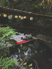 Kibune 貴船. Kyoto (H.L.Tam) Tags: iphone7plus 京都 life iphoneography sketchbook kawadoko 左京區 street streetphotography 貴船 iphone kyoto 川床料理 photodocumentary documentary japan japanese sakyōku people kibune