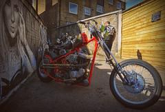 Back Street Biker.. (Harleynik Rides Again.) Tags: attitudecustoms backstreetbiker chopper hd sportster harleydavidson motorcycle harleynikridesagain