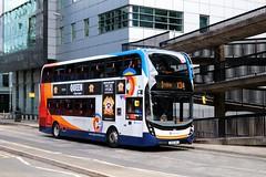 10522 SN16OMJ Stagecoach Western (busmanscotland) Tags: 10522 sn16omj stagecoach western sn16 omj adl ad alexander dennis e40d enviro 400 mmc north ayrshire express x34 glasgow irvine cumbernauld