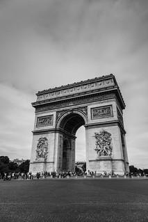 Arc the triomphe - Paris