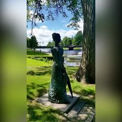 Vi har fått vackra #sommarbilder från #Lidköping vid #Vänern Foto: Vigdis Langeland (svenskvagguide) Tags: sommarbilder lidköping vänern