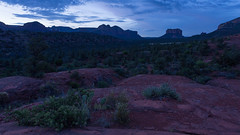 Sedona ... Red Rock and Cacti in the Blue Hour (Ken Krach Photography) Tags: sedonaarizona