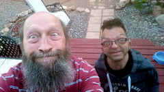 Two ace photogs (twm1340) Tags: may 2017 lee pirie arizona visit tour