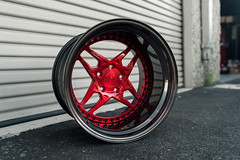 VLS450 | Candy Red / Candy Black