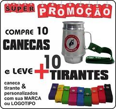 banner caneca + tirantes GRÁTIS 10unidades (marcosrobertoromagna) Tags: caneca cordões kits pesonalizados
