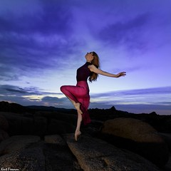 One Wish to Carry Me Through - Joshua Tree National Park with Marine de Vachon (Kent Freeman) Tags: joshuatreenationalpark marinedevachon canon eos 5d mark iii ef1740mm f4 l usm ef 1740mm joshua tree national park marine de vachon urban ballet dance