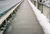 1st Street Bridge (vdezutti) Tags: 35mm film minneapolis minnesota color twin cities city midwest bridge belt beer neon sign winter grain mississippi river hennepin northeast downtown stone arch vivitar v335