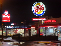 Burger King and Wendys (geoffreyw@kinect.co.nz) Tags: burger king wendys south dunedin