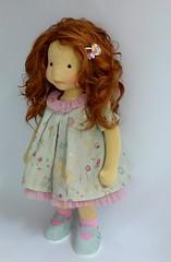 waldorf doll (Dearlittledoll) Tags: waldorf waldorfdoll steinerdoll slowdollmaking montessori organicdoll puppet