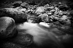 moving water (pics by paula) Tags: water river long exposure waiting stream movement moving wales picsbypaula paula wayne nikon nd filter rocks pebbles