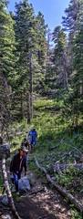 Hike Cienega Canyon (JoelDeluxe) Tags: happybirthdayjames cienegacanyon group campground glade hike sandias nm newmexico joeldeluxe
