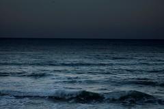 Bluesea triste.....è in arrivo il temporale!! (dona(bluesea)) Tags: sea water cielo sky temporale thunderstorm onde waves triste sad cefalù sicilia sicily