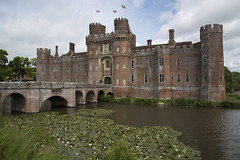 Herstmonceux Castle (Ricky Webster) Tags: castle moat water moated stone fortress tower turret bridge landscape old herstmonceux sussex gardens woodland castles palaces manorhouses statelyhomes cottages