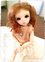 """You know that saying """"I love Lucy ❤️ (Shayne Blythe) Tags: bjd fairyland littlefeeante littlefee"""