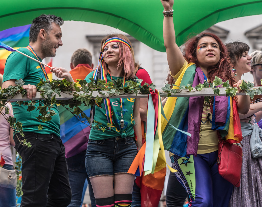 LGBTQ+ PRIDE PARADE 2017 [STEPHENS GREEN BEFORE THE ACTUAL PARADE]-129920