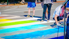 2017.06.09 DCRainbowCrosswalks, Washington, DC USA 6216
