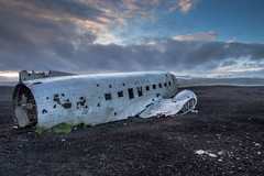 Ready for take off (lloydich) Tags: iceland july trip plane crashed landed old rusting