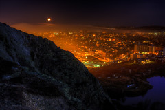 City Morning HDR (Zach Bonnell) Tags: stjohns newfoundland canada canoneos60d yongnuo35mmf2 hdr signalhill