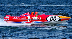 Scotland Greenock Scottish Grand Prix of the Sea the powerboat Typhoo 25 June 2017 by Anne MacKay (Anne MacKay images of interest & wonder) Tags: scotland river clyde greenock scottish grand prix sea powerboat typhoo xs1 25 june 2017 picture by anne mackay