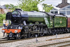 The Cathedrals Express : Chester (Elaine 55.) Tags: thecathedralsexpress theflyingscotsman steam train chester station