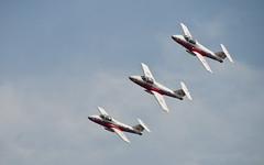 Canadair CT-114 Tutor - Snowbirds (flyingeegle) Tags: ct114tutor canadair snowbirds nikon nikkor1855mm toronto ontario airdemonstrationteam aerobatics canada
