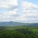 blue ridge from window in Biltmore thumbnail