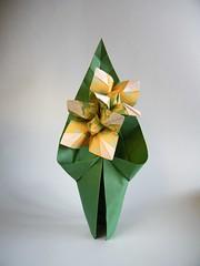Eucharis - Nilva Pillan (Rui.Roda) Tags: origami papiroflexia papierfalten flor fiore fleur flower nilva pillan