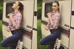 (DorotaPh) Tags: blonde girl fashion 50mm nikon natural light poland polish model face outfit makeup spring body