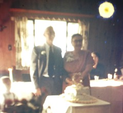 OLD FAMILY PHOTOS - My Grandparents 50th Wedding Anniversary (I believe it was 1957) (bslook1213) Tags: oldfamilyphotos