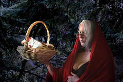 """175/365 Taking a Basket of Covfefe to Grandma's House (ruthlesscrab) Tags: wah """"we'rehere"""" hereios """"366the2017edition"""" 3662017 """"day175365"""" 24jun17 covfefe grimm fairy tale story """"redridinghood"""" rotkäppchen """"caperucitaroja"""" """"goldenyears"""" retirement elderly """"terceredad"""" self """"xspot"""""""