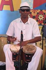 Changüí Guantánamo (2017) 06 (KM's Live Music shots) Tags: worldmusic cuba changui changuiguantanamo bongos drums neworleansjazzheritagefestival culturalexchangepavilion fairgroundsracecourseneworleans