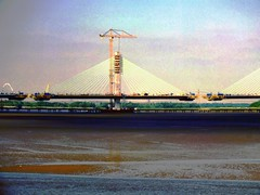 DSCF0693E Mersey Gateway Bridge (Anand Leo) Tags: merseygatewaybridge rivermersey widnes runcorn