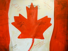 #canada150yrs (Mr. Happy Face - Peace :)) Tags: canada150 yyc albertabound art2017 flickrfriends love community mapleleaf flag cans2s art birthday celebrations country nation friendship neighbor free compassion united commonwealth proud equal diversity opportunity immigration fair rights happycanada150