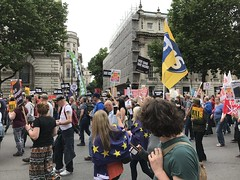 Anti Austerity March, July 2017 (Ian Press Photography) Tags: anti austerity march july 2017 protest downing street protests protester protesters demo demonstration london tory conservative