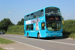 Arriva Midlands 4772 YJ56KFD (Andy4014) Tags: arriva midlands leicester bus yj56kfd