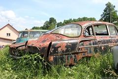 Tatra T603 (MilanWH) Tags: autovrakoviště scrapyard czech rust épave tatra t603 603