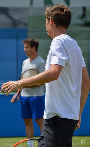 Fabrice Santoro - Nicolas Mahut & Fabrice Santoro