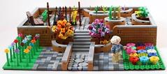 Elsie's Colourtastic Garden (1) (AzureBrick) Tags: lego brickstastic new elementary colours colourtastic garden elsie walled color citizen brick cb