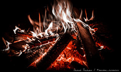 Fire in darkness (bembel_schorsch) Tags: fire camping feuer bembelschorsch canon eos 600d hot glowing glut red orange nightshot lagerfeuer burning wood holz flames flaming flammen darkness dark dunkelheit